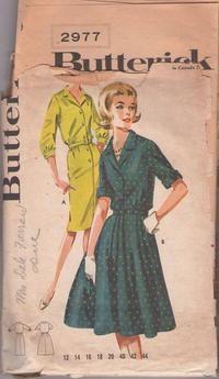 MOMSPatterns Vintage Sewing Patterns - Butterick Patterns