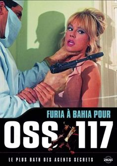 Mylène Demongeot, Furia à Bahia pour OSS 117 (1965) ~ ミレーヌ・ドモンジョの『リオの嵐』 Gyao!にて無料放映。いわゆる60年代の『007は殺しの番号』からはじまったスパイ映画ブームの徒花の如き作品です。ミレーヌ・ドモンジョさんの主演映画は、その殆どが廃盤か若しくは未ソフト化で、本作もまた現在ではなかなか観る事の叶わぬ一本なのであります。写真をクリックして頂けると、拡大写真になり、その写真をクリックで行けます。ものすご〜くオヒマな方、折角の機会ですので是非、御愉しみ下さい。ちなみにドモンジョさんのお名前から、あのタツノコプロの三悪人のリーダー、ドロンジョ様が生まれたのは有名な逸話ですわね。