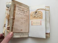 Tsunami Rose Designs: DT Project: Beth Wallen- Vintage Mini Junk Journal using various Ephemera . Art Journal Pages, Junk Journal, Journal Paper, Art Journals, Journal Covers, Journal Cards, Handmade Journals, Handmade Books, Vintage Journals