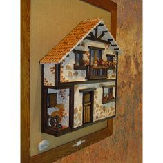 balcones antioqueños miñiatura - Buscar con Google Vitrine Miniature, Miniature Rooms, Miniature Houses, Halloween Crafts For Kids, Fun Crafts, Driftwood Art, Stone Houses, Model Homes, Little Houses