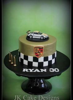 One for the boys , Porsche cake