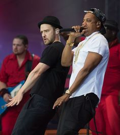 Jay Z was Justin Timberlake's mirror. | 19 Things Celebrities Did This Week