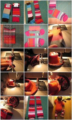 make babylegs- tutorial from flickr user Baby Hopes by Chica Schmica, via Flickr