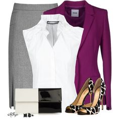 """Fall Office Style"" by kginger on Polyvore"