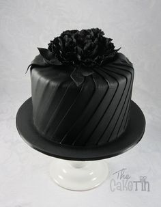 Black Friday Birthday Cake - by The Cake Tin @ CakesDecor.com - cake decorating website