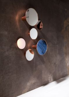 Sirens – mirror and light objects by Olga Bielawska