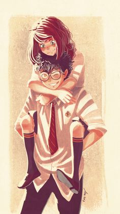 Marauders - Jily, James Potter, Lily Evans 1/2