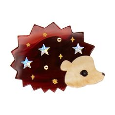 Tatty Devine Hedgehog brooch.  £42