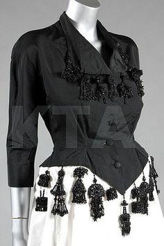 Bodice Cristobal Balenciaga, 1945 Kerry Taylor Auctions