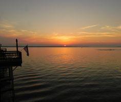 cedar creek lake | 22 - Sunset – Cedar Creek Lake, Texas We went fishing (and pushed a boat!) here as kids...