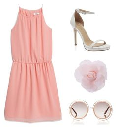 summer date:) by lilkfo on Polyvore featuring polyvore, fashion, style, MANGO and Chloé