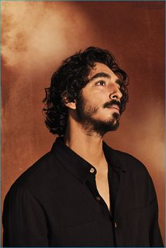 Dev Patel poses for The Hollywood Reporter.