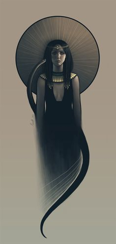 Nephthys // Funerary Goddess