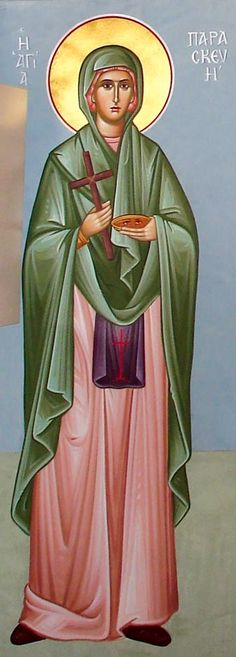 St. Paraskevi  of Rome - July 26 - by Maria Hatjivasiliou