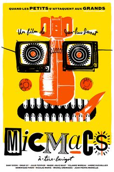 Micmacs à tire-larigot - Matt Chase | Design, Illustration