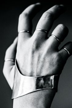 Y Project | A/W 2014 this is my fighting hand!! Love this jewelry.