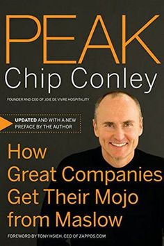 Peak: How Great Companies Get Their Mojo from Maslow by C... https://www.amazon.com/dp/0787988618/ref=cm_sw_r_pi_dp_x_vvvAybXCK07Y4