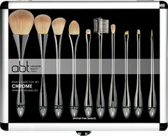 abt (advanced beauty tools) vegan makeup brushes WOW and they look amazing!