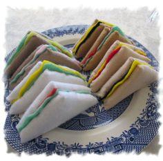 Sandwiches Felt Play Food, Bread and Salad Pretend Food