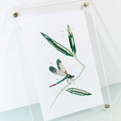 Evoke memories of warm summer days lounging around in nature with this darling cross stitch pattern.