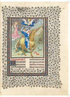 Folio 167r. Belles Heures of Jean de France, duc de Berry, 1405–1408/9. Herman, Paul, and Jean de Limbourg (Franco-Netherlandish, active in France by 1399–1416). French; Made in Paris.