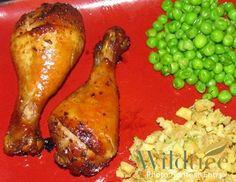Honey Balsamic Chicken Drumsticks    www.mywildtree.com/carolynnowacki