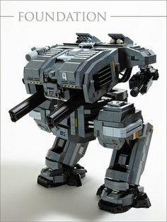 We all love a good LEGO Gundam or Macross mecha, but LEGO builders everywhere are also creating excellent models of their own designs. Lego Mecha, Lego Robot, Lego War, Lego Design, Legos, Lego Machines, Lego Knights, Amazing Lego Creations, Lego Spaceship