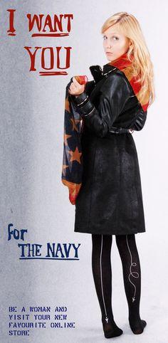 Retro Propaganda Poster - Trench Coats http:/besm.us  http://facebook.com/BeSmus