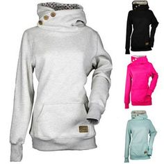 TOTRUST Plus Size Hoodies Women Sweatershirts 2017 New Sudaderas Mujer Long Sleeve Pullover Casual Tops sudade Female Outwear Fashion Casual, Women's Fashion, Sport Fashion, Fashion Women, Winter Fashion, Plus Size Hoodies, Hooded Sweater, Jumper, Sweater Coats