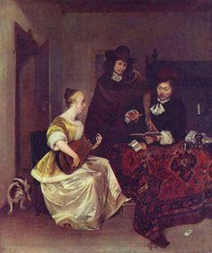 Gesina ter Borch   1633 ~1690