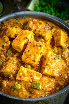 Indian Vegetarian Recipes 600386194055085260 - Achari Paneer is an Indian cottage cheese curry made using pickling spices. Slightly tangy and full of flavors, this curry goes perfect with Indian breads. Indian Veg Recipes, Indian Dessert Recipes, Indian Food Vegetarian, Vegetarian Cooking, Paneer Dishes, Veg Dishes, Milk Recipes, Cooking Recipes, Vegan Recipes