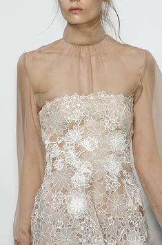 Valentino Fall 2010 - Details -- Go here for your Dream Wedding Dress and Fashion Gown! https://www.etsy.com/shop/Whitesrose?ref=si_shop