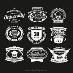College-Abzeichen