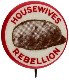On July 19, 1848 The Women's Rights Convention took place in Seneca Fall, NY. Bloomers were introduced at the convention. These conventions became annual events until the outbreak of the American Civil War in 1861.  This and other women's rights buttons can be found at TedHake.com!