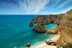 Portuguese_beach_Algarve - Faro