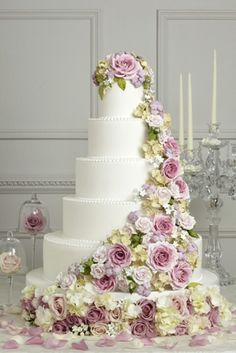 Traditional Wedding at Chandeliers On Abbey   Cake style ...