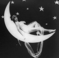 vintage moon photos