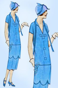 flapper in Sewing Vintage Girls, Vintage Dresses, Vintage Outfits, Vintage Fashion, 20s Dresses, 1940s Fashion, Vintage Stuff, Flapper Style, 1920s Style