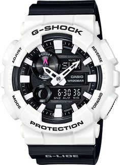 Gshock black and white