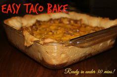 Taco Bake – #Easy Family Meal #recipe