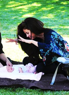 #SelenaGomez #with #her #little #sister #Gracie ♥ #they #are #so #cute :3