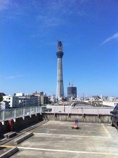 The skytree under construction