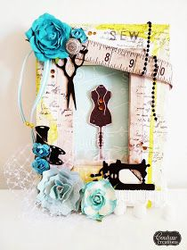 Couture Creations: Reverse Canvas by Amanda Baldwin