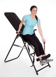 5 Killer Inversion Exercises-We've known for decades that inversion therapy is one of the fastest ways to get safe, natural relief from back pain.      Inversion tables also make a great exercise tool  How fast?    Try 10 seconds to pain relief fast.    That according to a study which measured lower back muscle EMG activity – which directly corresponds to muscle pain. In those first 10 seconds, EMG activity dropped by 35%.