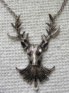 Silver Tibetian Stag Pendant. Soon Baby.
