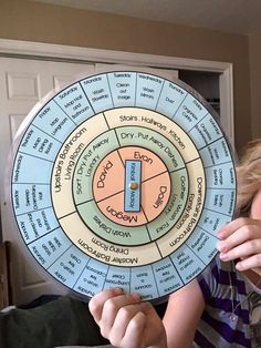 Chore wheel by Amelia Carbine