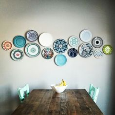Plate wall I just did!