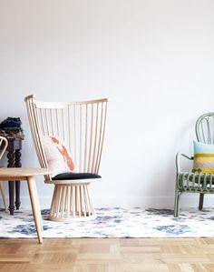 Home I Interior I Furniture I Windsor Stuhl I Landhaus Stuhl I Holzstuhl I Fan Chair by Tom Dixon