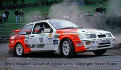 Frank Meagher Sierra Cosworth