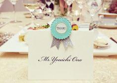 誰でも簡単DIY*『プラバン』で可愛いウェディング小物づくり|marry[マリー] Wedding Place Cards, Wedding Paper, Diy Wedding, Shrink Art, Name Cards, Wedding Images, Handmade Baby, Diy For Kids, Wedding Stationery